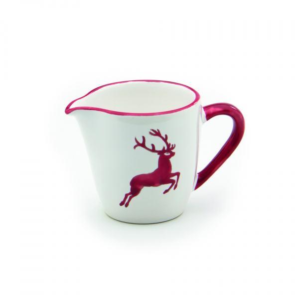 Gmundner Keramik Rubinroter Hirsch Milchgießer Gourmet (0.2L)