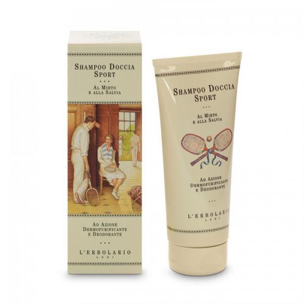 L'erbolario Sport Dusch - Shampoo mit Myrte und Salbei 200ml
