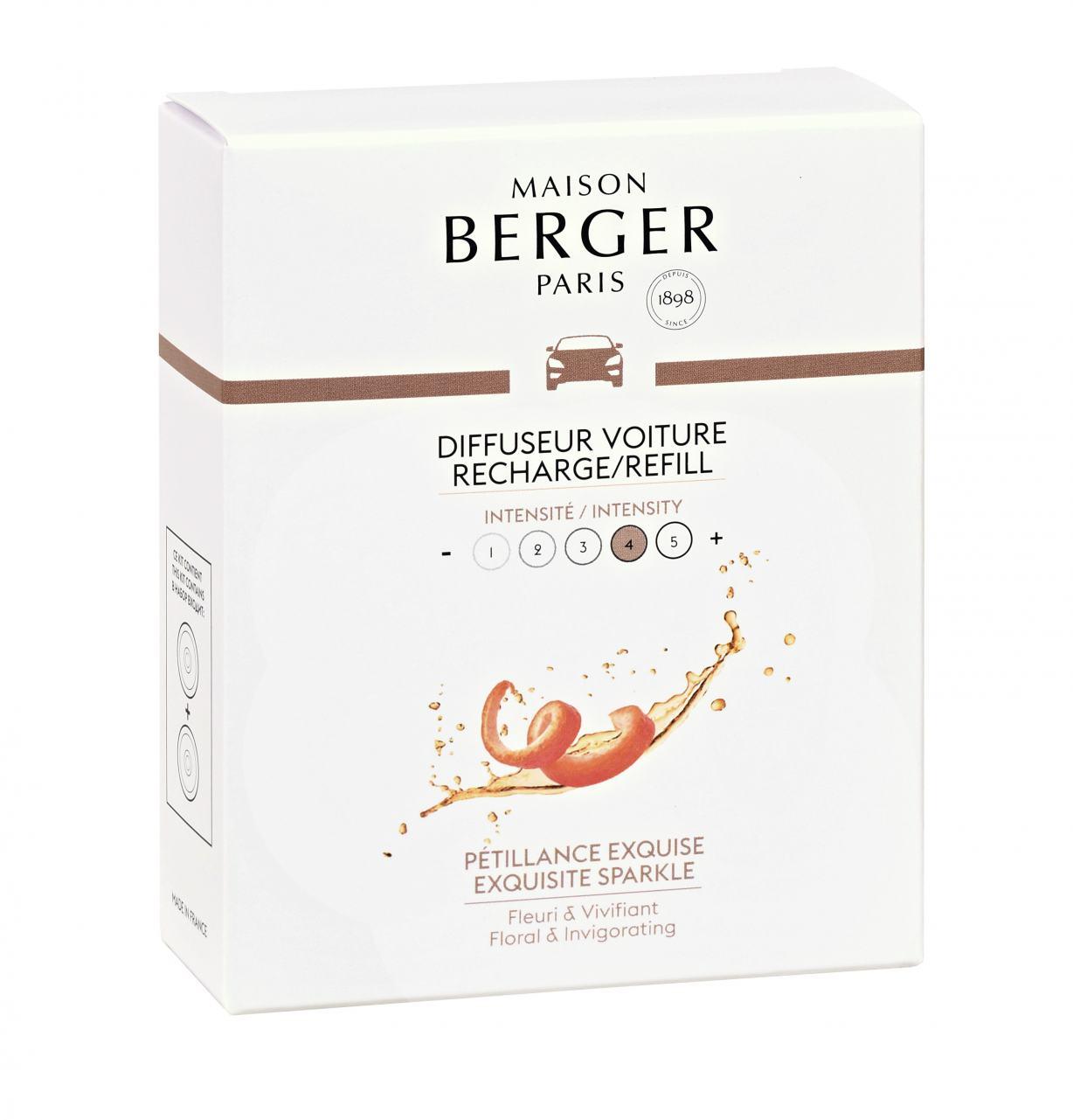 Maison Berger Autoduft Champanger Fruchtsorbet 2 Refill