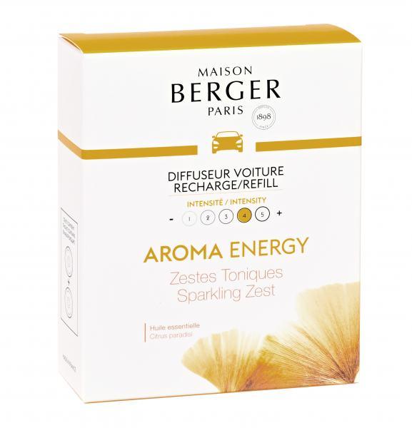 Maison Berger Autoduft Aroma Energy 2 Refll