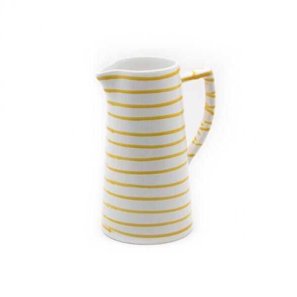 Gmundner Keramik Gelbgeflammt Wasserkrug 1.2L