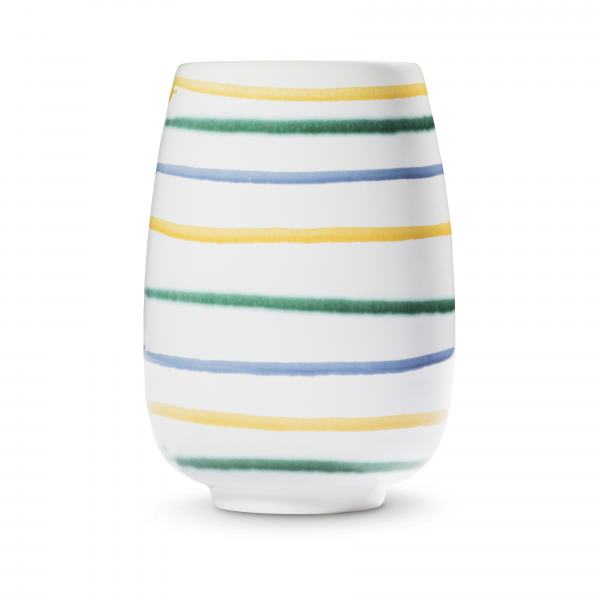 Gmundner Keramik Buntgeflammt Vase H: 11cm