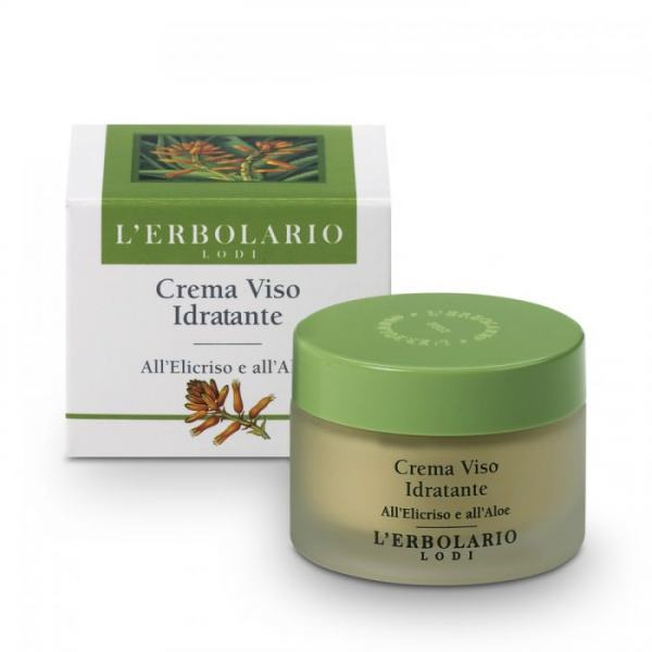 L'erbolario Feuchtigkeitscreme mit Strohblume & Aloe Vera 50ml