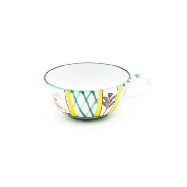 Gmundner Keramik Jagd Teetasse glatt (0.17L)