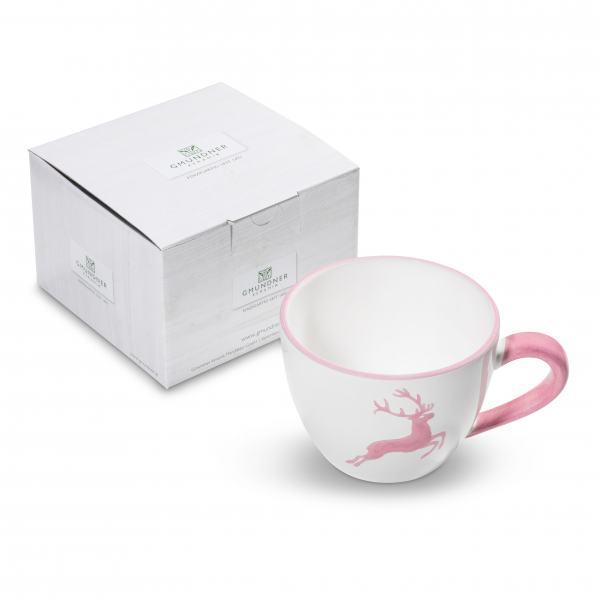 Gmundner Keramik Rosa Hirsch Teetasse Maxima 0.4L