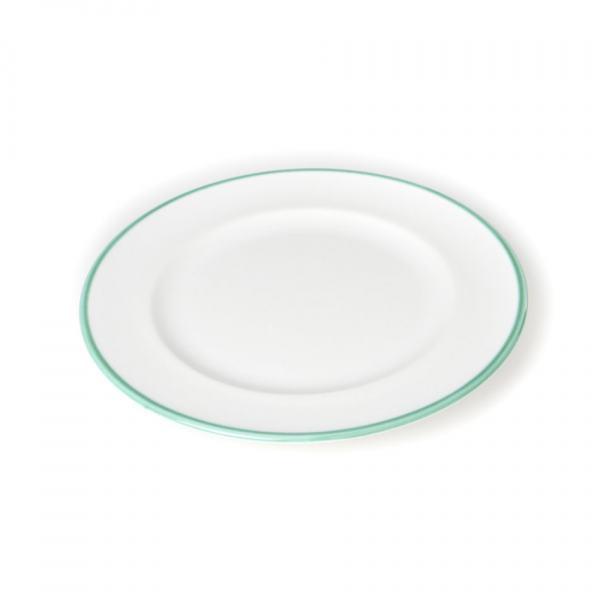 Gmundner Keramik Grüner Rand Speiseteller Gourmet Ø 29cm