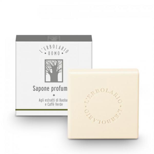 L'erbolario L'ERBOLARIO UOMO Parfümierte Seife 100g