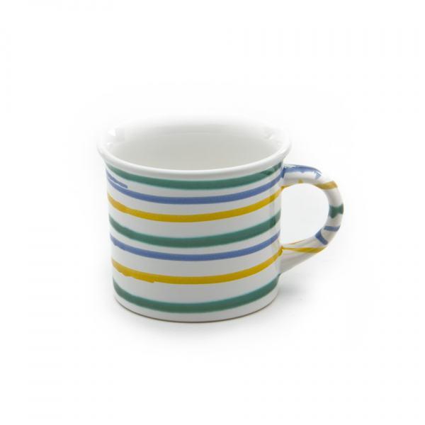 Gmundner Keramik Buntgeflammt Kaffehäferl 0.24L