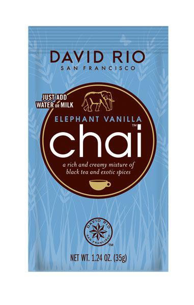 David Rio Chai Elephant Vanilla Tüte