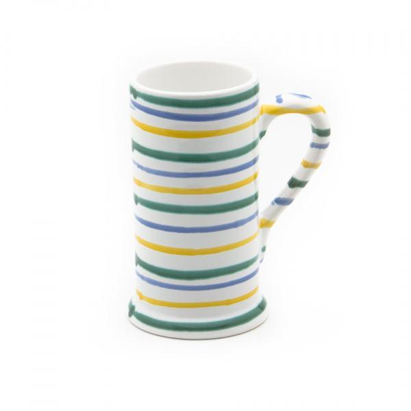 Gmundner Keramik Buntgeflammt Bierkrug Form-A 0.5L