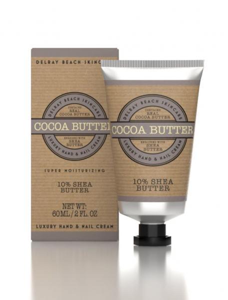 Delray Beach Hand Cream Coca Butter 60ml Tube (Boxed)