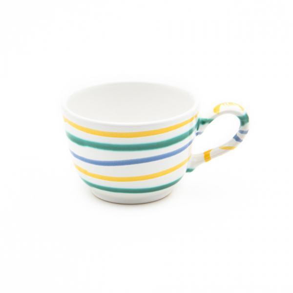 Gmundner Keramik Buntgeflammt Kaffeetasse glatt 0.19L