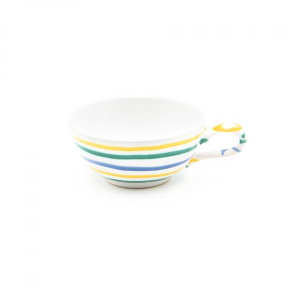 Gmundner Keramik Buntgeflammt Teetasse glatt (0.17L)