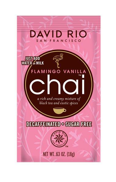 David Rio Chai Flamingo Vanilla Tüte