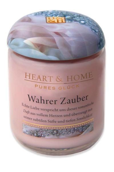 Heart & Home Duftkerze groß Wahrer Zauber 310gr
