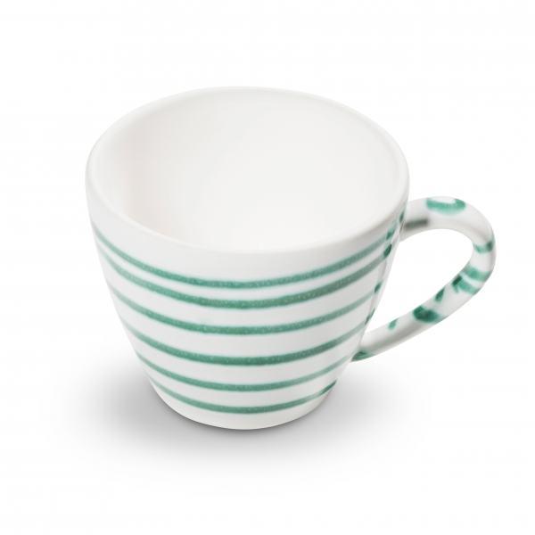 Gmundner Keramik Grüngeflammt Kaffeetasse Gourmet 0.2L