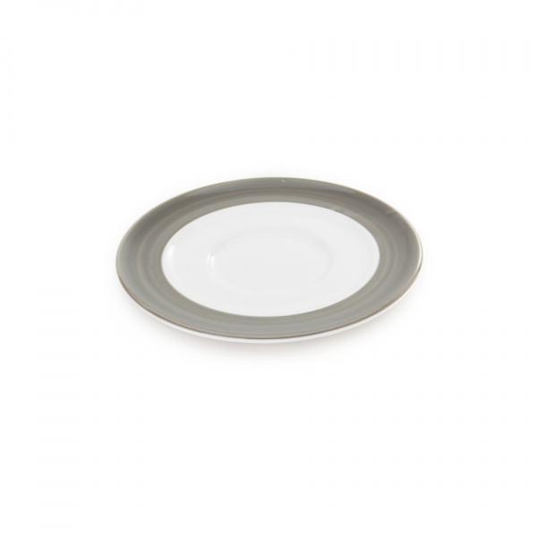 Gmundner Keramik Variation grau Unterteller Kaffee Gourmet (Ø 16cm)