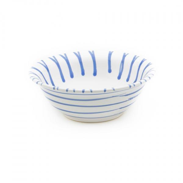 Gmundner Keramik Blaugeflammt Salatschüssel (Ø 20cm)