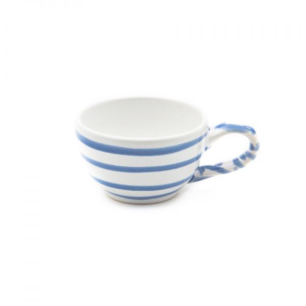 Gmundner Keramik Blaugeflammt Mokkatasse glatt (0.06L)