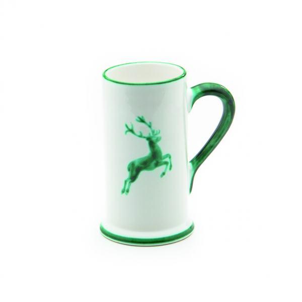 Gmundner Keramik Grüner Hirsch Bierkrug Form-A 0.5L