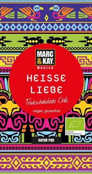 Marc & Kay BIO Trinkschokolade 25 gr Heisse Liebe