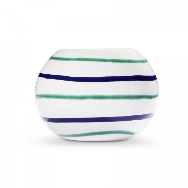 Gmundner Keramik Traunsee Kugel-Leuchter/ 1 Teelicht