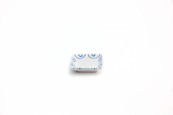 Gmundner Keramik Blaugeflammt Snackschale (11x11cm)