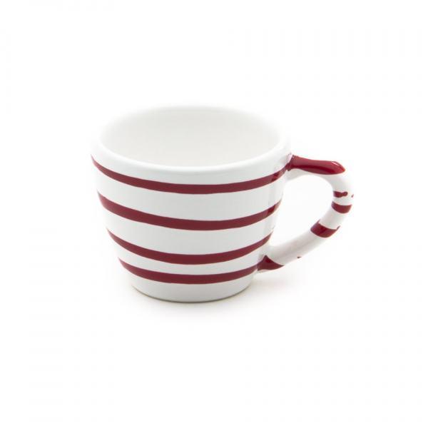 Gmundner Keramik Rotgeflammt Espressotasse Gourmet (0.06L)