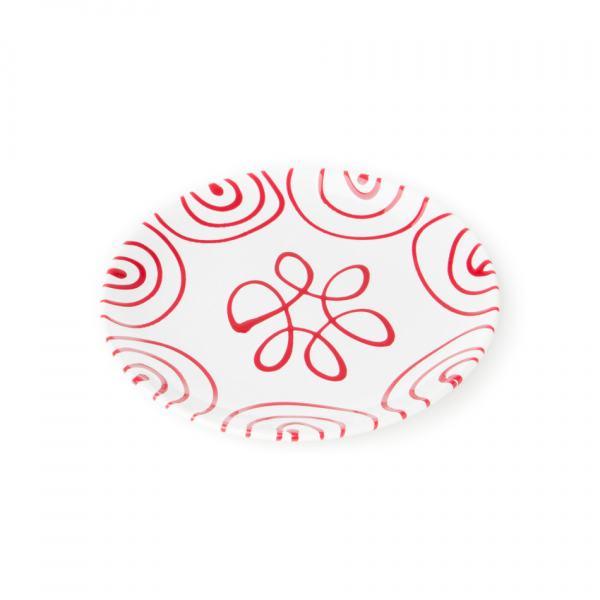 Gmundner Keramik Rotgeflammt Dessertteller Cup (Ø 20cm)