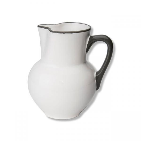 Gmundner Keramik Grauer Rand Wiener Form 1L