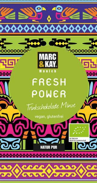 Marc & Kay Trinkschokolade 25 gr Fresh Power