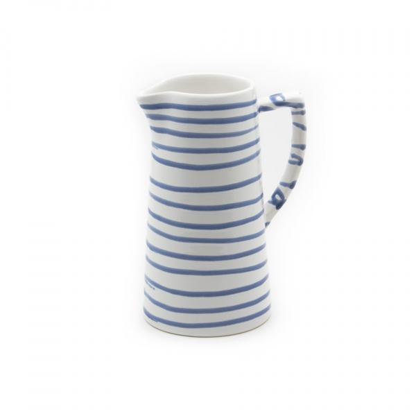 Gmundner Keramik Blaugeflammt Wasserkrug 0.7L