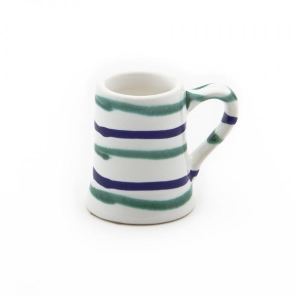 Gmundner Keramik Traunsee Stamperl Krug (H: 5.5cm)