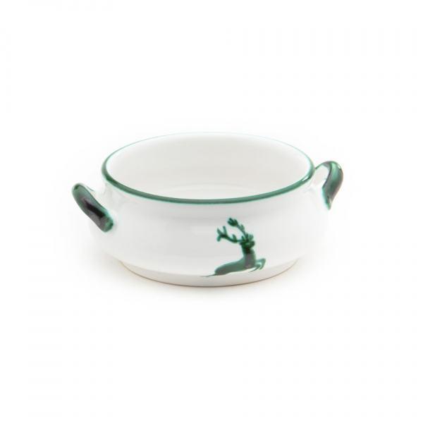 Gmundner Keramik Grüner Hirsch Suppenschale 0.37L