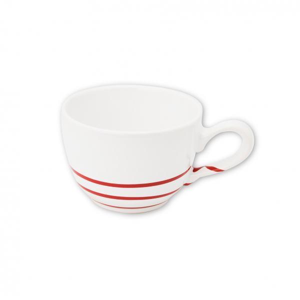 Gmundner Keramik Pur Geflammt Rot Kaffeetasse glatt 0.19L