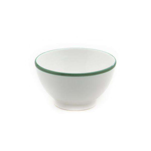 Gmundner Keramik Grüner Rand Müslischale groß (Ø 14cm)