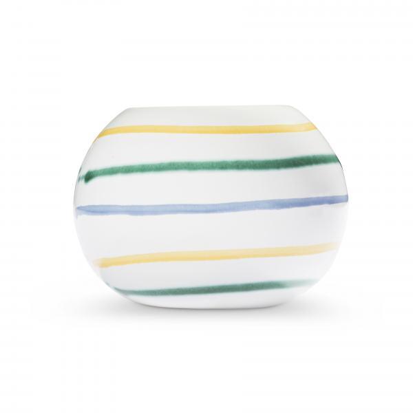 Gmundner Keramik Buntgeflammt Kugel-Leuchter/ 1 Teelicht