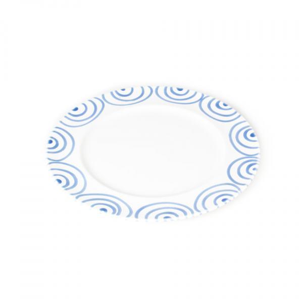 Gmundner Keramik Blaugeflammt Speiseteller Gourmet (Ø 29cm)