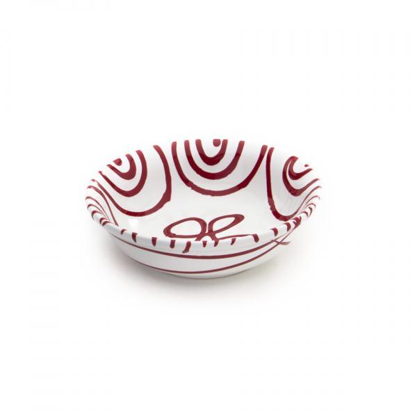 Gmundner Keramik Rotgeflammt Müslischale klein 14cm