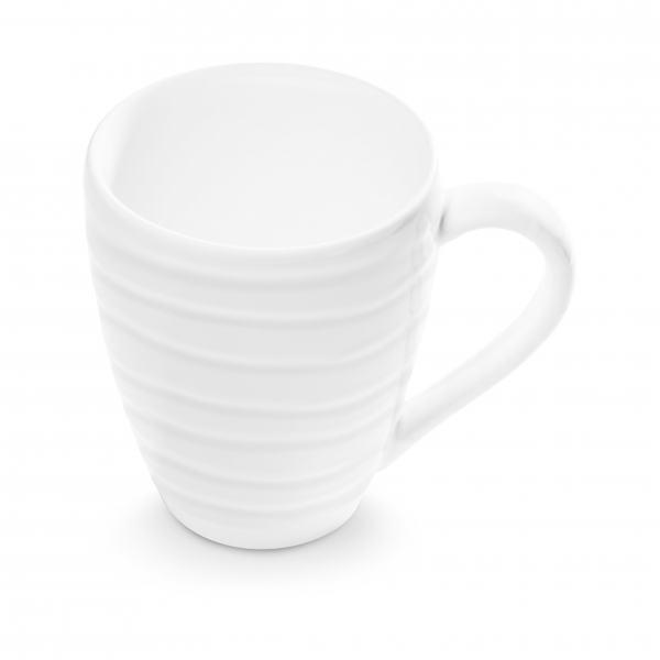 Gmundner Keramik Weißgeflammt Frühstücksbecher Max 0,3L