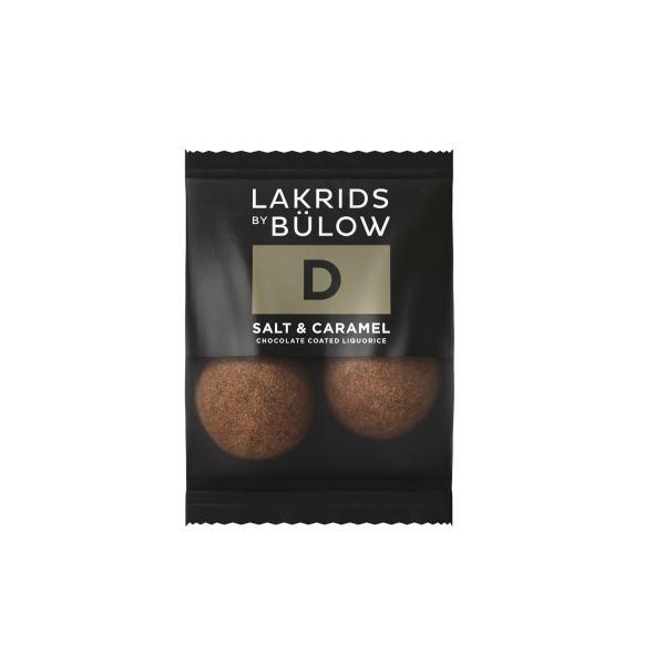 Lakrids by Bülow MINI D - SALT & CARAMEL 2 PCS 6g