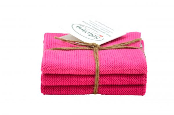 Solwang Wischlappen 3er Set pink Mix