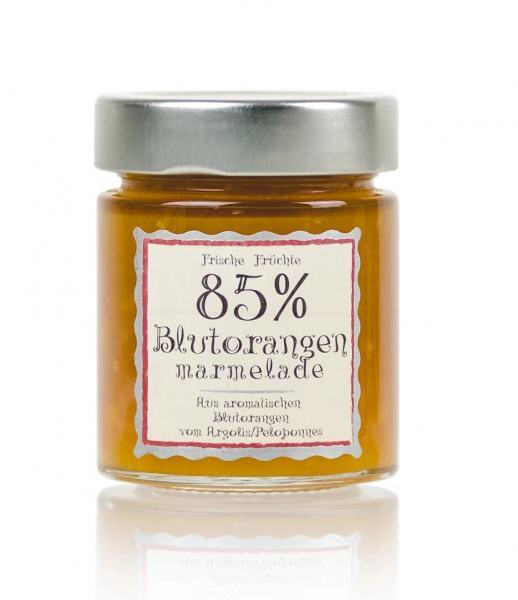Deligreece Blutorangen Marmelade 85% 180g.