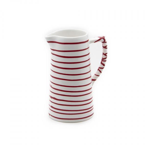 Gmundner Keramik Rotgeflammt Wasserkrug 1.2L