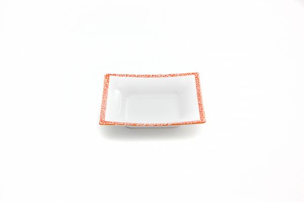 Gmundner Keramik Selektion Orange Suppenteller (20x20cm)