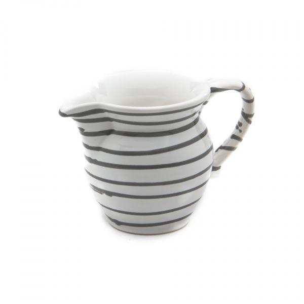 Gmundner Keramik Graugeflammt Milchgießer glatt (0.5L)
