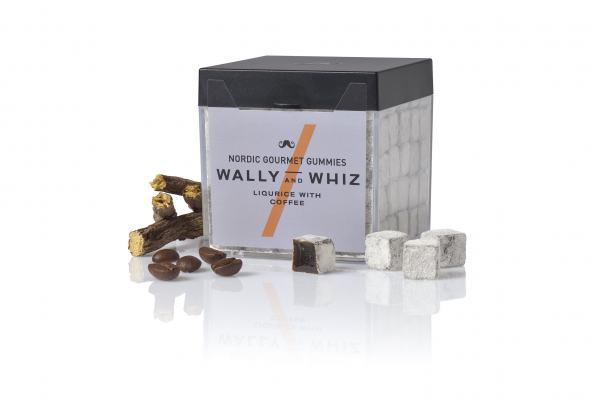 Weingummis Wally & Whiz Lakritz mit Kaffee 150g