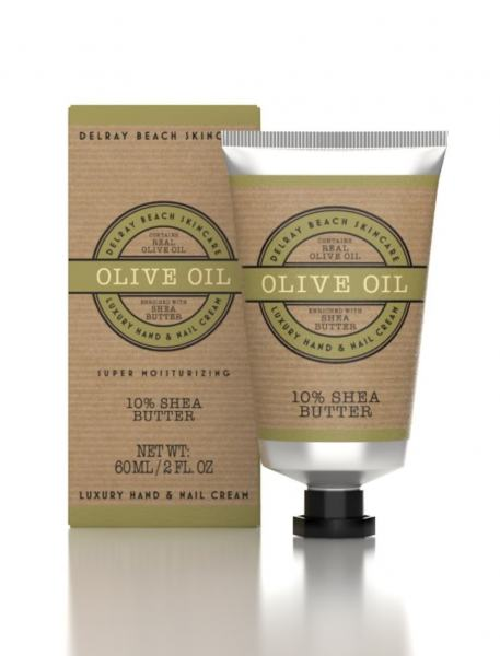 Delray Beach Hand Cream Olive Oil 60ml Tube (Boxed)