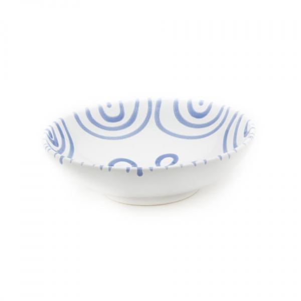 Gmundner Keramik Blaugeflammt Schale groß (Ø 17cm)