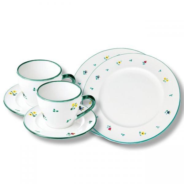 Gmundner Keramik Streublumen Breakfast for two Gourmet